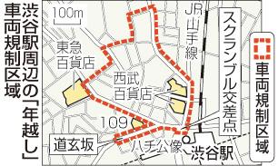 「渋谷 スクランブル交差点 年越し」の画像検索結果