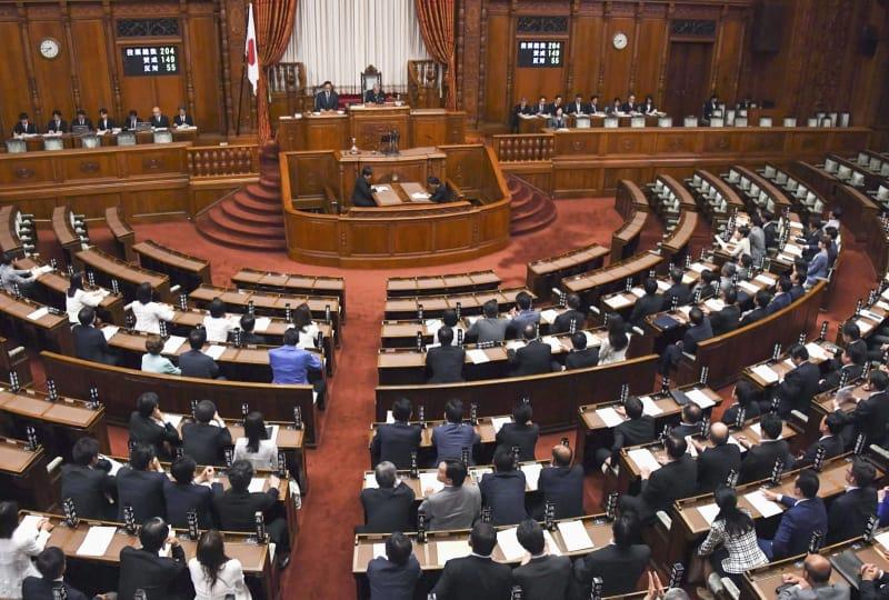 参院、議員定数6増へ 自民案可決、来週成立