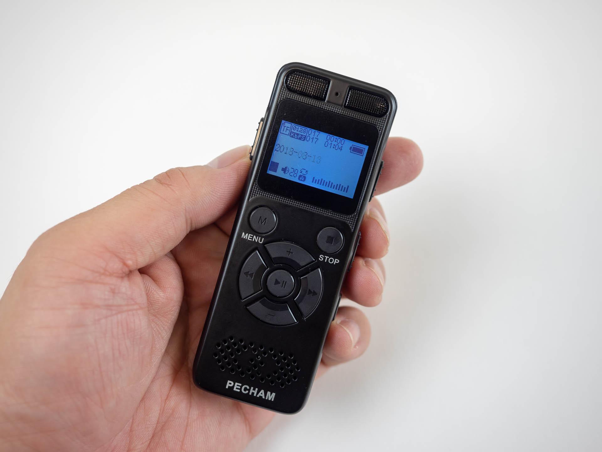 3000円台の激安中華ボイスレコーダーを買ってみた:旅人目線のデジタル ...