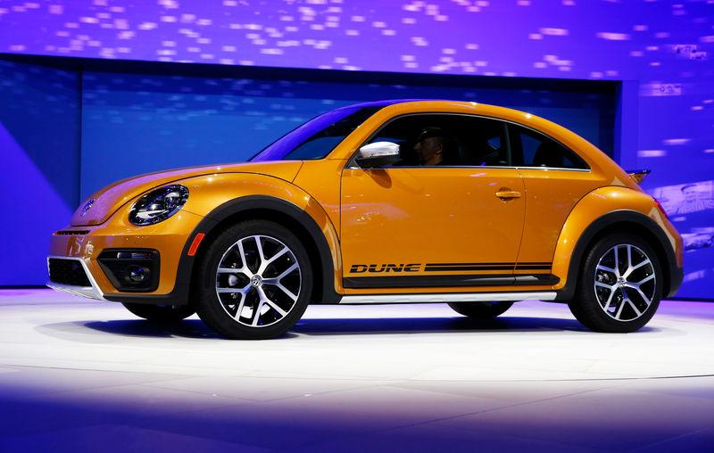 独VW、「ビートル」製造を2019年に終了 小型車の象徴的存在
