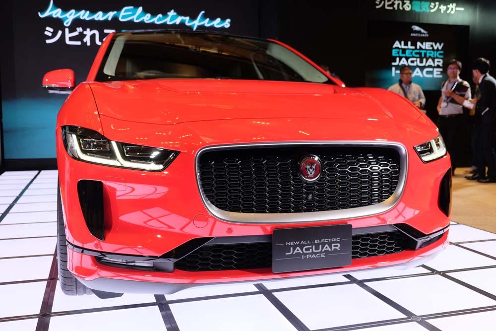 ジャガー、初のEV「I-PACE」国内発表 スポーツカー顔負けのSUV