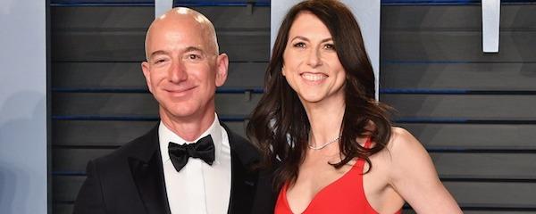 アマゾンCEO、ジェフ・ベゾス氏離婚へ