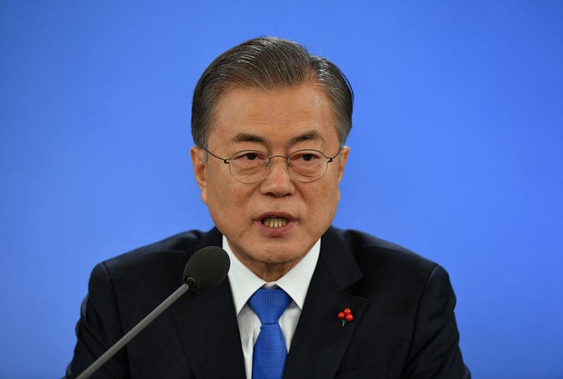 「強制労働」巡る韓国政府の司法尊重、日本は理解すべき=文大統領