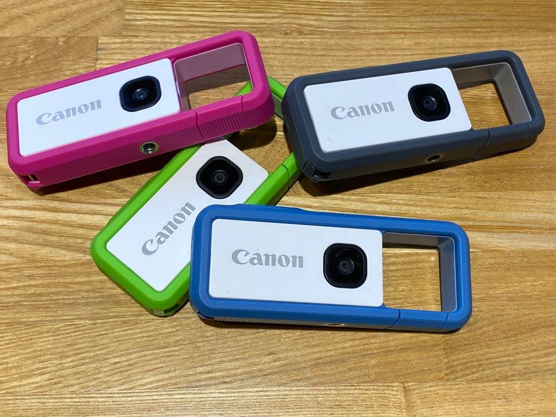 キヤノンのカラビナ型カメラ「iNSPiC REC」国内発表、1万3800円で12月 ...