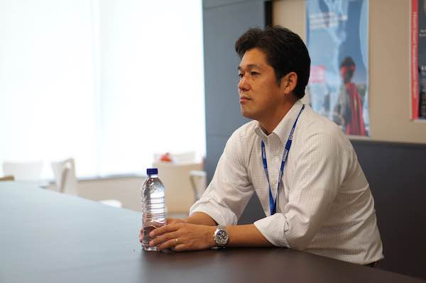 シンガポール現地法人の志田勝巳氏。昨年の企業買収も同氏が中心メンバーの一人として進めた