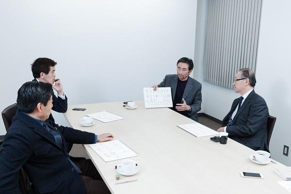日本のスポーツビジネス界を代表する4人が、日本サッカーの未来を熱く論じた