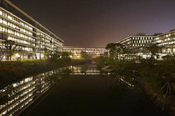 アリババのオフィス(写真提供:隈研吾建築都市設計事務所)