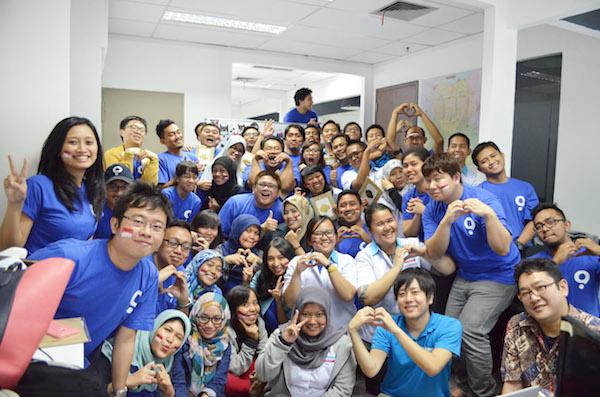 Quipperインドネシアオフィスのメンバーは、ほぼ現地採用。ローカルに精通した人材を集めている。なお、開発チームはロンドン、日本を含めた各拠点に分散している。