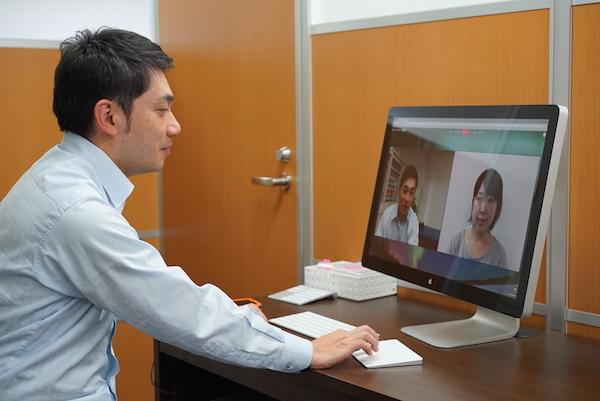 メドレーが提供する遠隔診療システム(提供:メドレー)