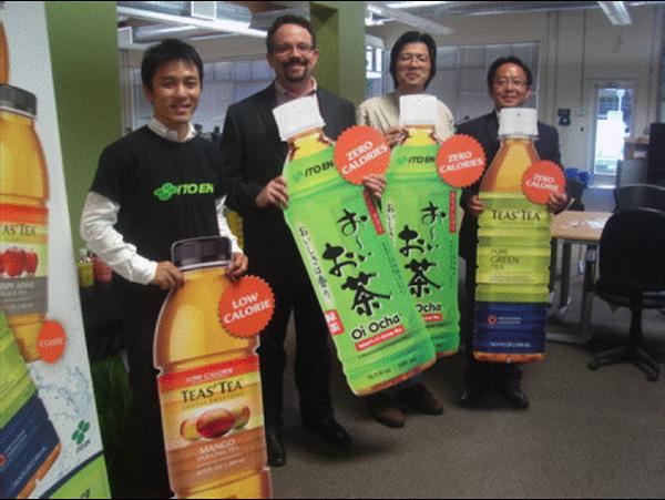 Evernote社CEO フィル・リービン氏(左から2番目)