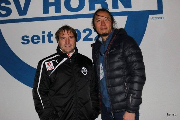 ヴェスターターラー監督とは2006年にインスブルッカーACを4部から3部に昇格させて以来のタッグとなる(写真:SVホルン提供)