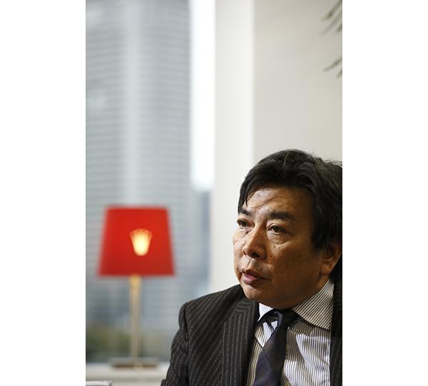トリンプ・インターナショナル・ジャパン社長、土居健人氏