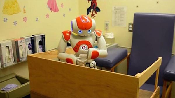 病院でのロボット。(http://www.rxrobots.com)