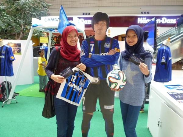 今年1月24日にインドネシアでペルシジャ・ジャカルタとガンバ大阪の親善試合が行なわれ、2万5千人の観客が集まった。(写真:Jリーグ提供)