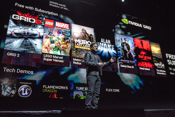 Nvidia Corp. Reveals 'The Shield' At The 2015 Game Developers Conference