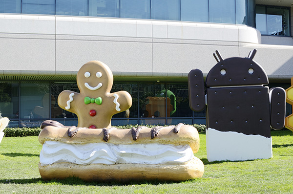 google and its android robot